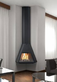 cheminée angle Arion