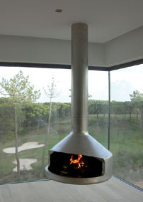 cheminées centrales Algarve