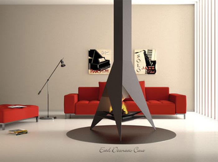 chemin�e centrale CH94