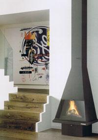 cheminée gaz murale Cerdanya G