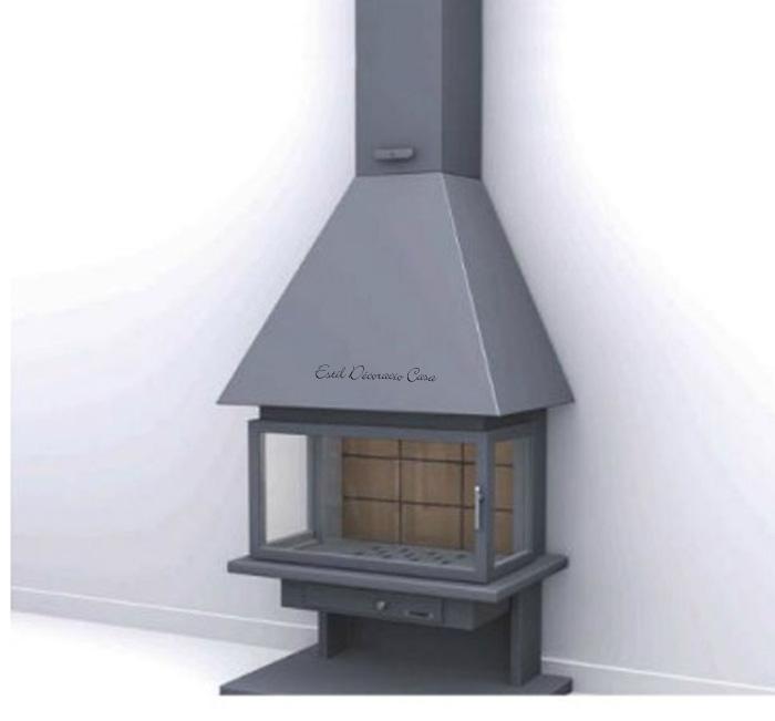 cheminée de face CH57