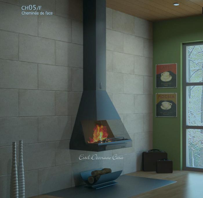 chemin�e de face suspendue CH05