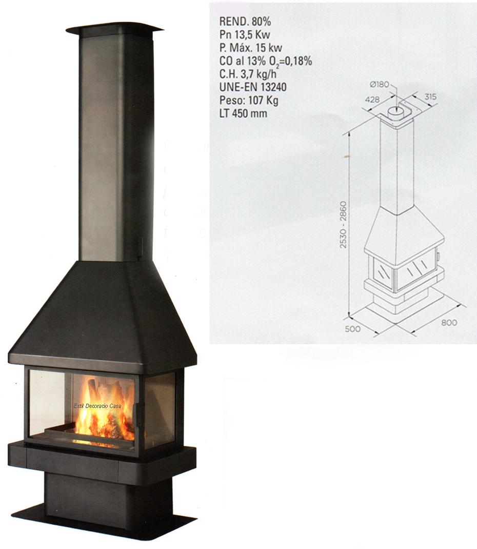 cheminée face LL10